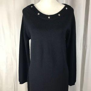 St. John Sport Long Sleeve Knit Dress